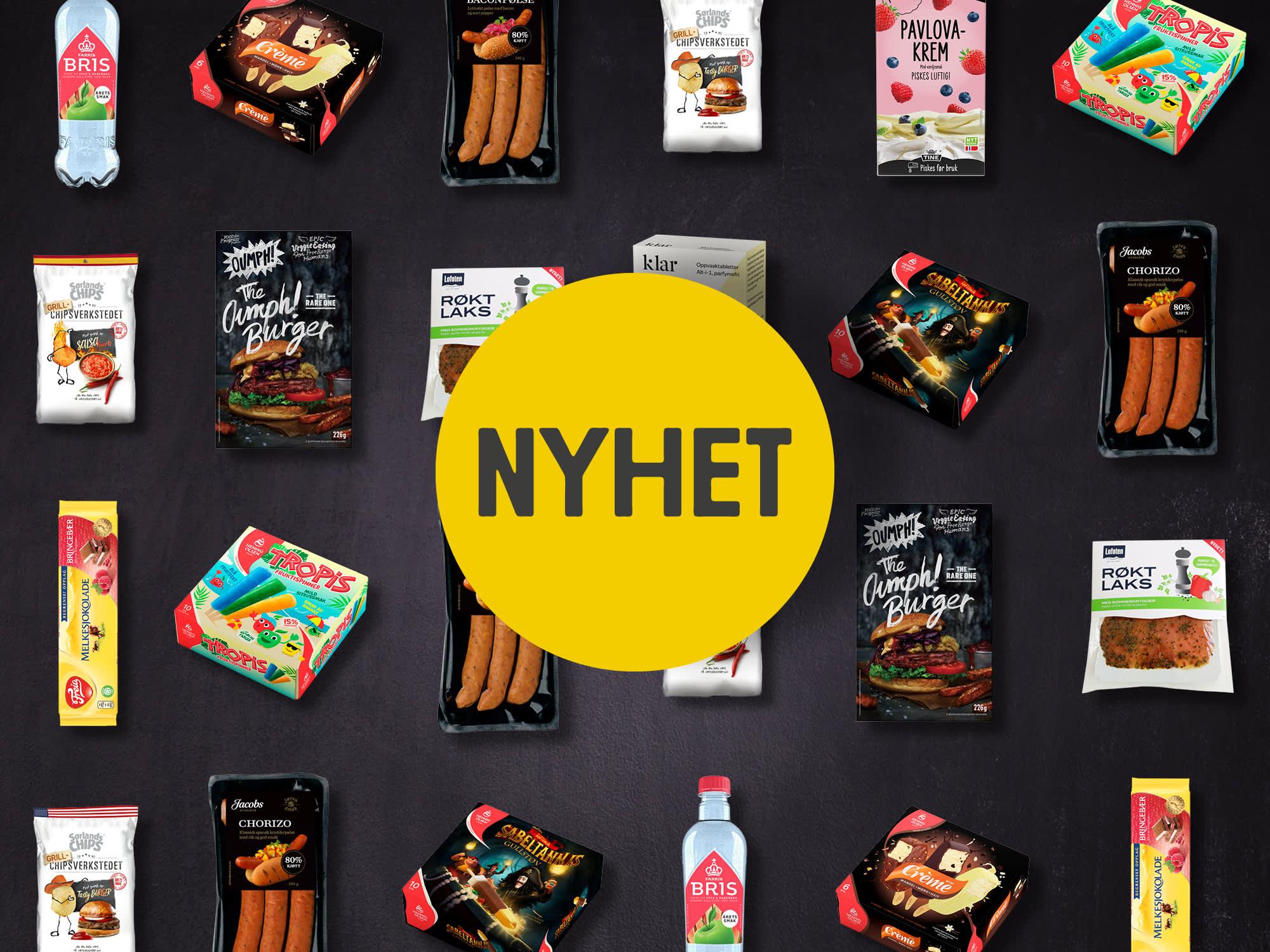 Varens Nyheter I Dagligvare 2019 Meny No