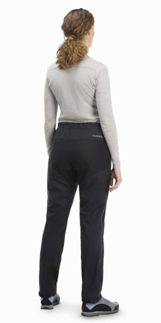 Norrøna Women's Bitihorn Lightweight Pants Walking trousers Caviar | XS