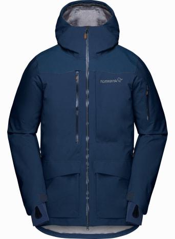 Norrønas tamok kolleksjon med ski og snowboardklær for