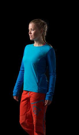 Norrona fjora mountainbike shorts & long sleeve shirt