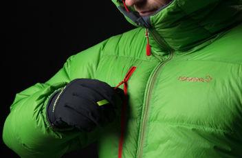 Norrøna lyngen down jacket green