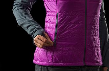 norrona lyngen alpha100 ski touring Vest for women