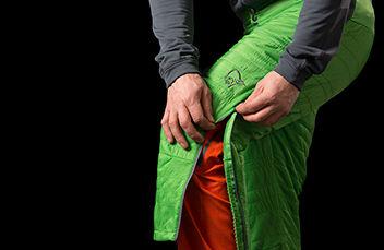 norrona lyngen alpha100 3/4 ski touring pants for men