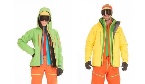 How to dress for freeride skiing?