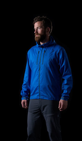 Light, windproof and flexible jacket from the Norrona bitihorn collection