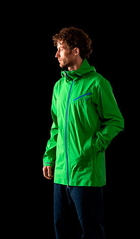 Norrona rain coat made for urban life with great protection