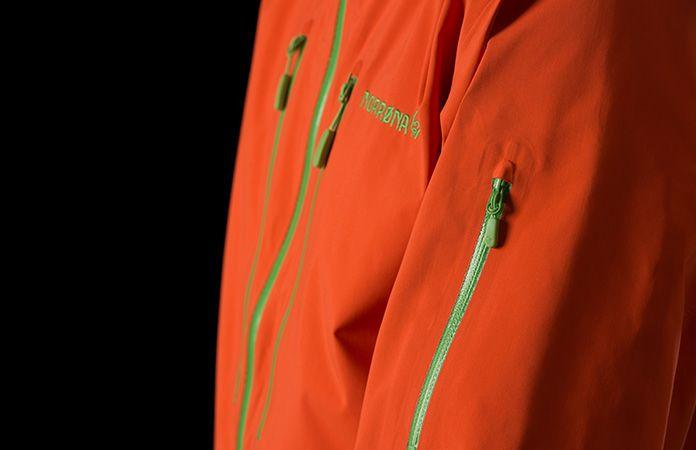 Norrona lofoten ski jacket for freeride