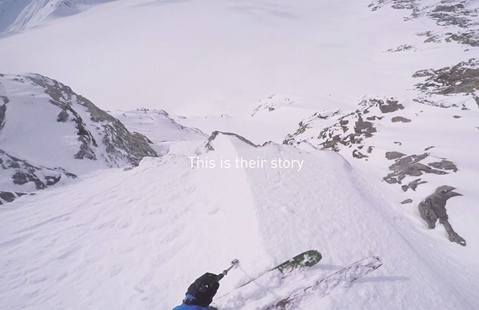 Norrøna lyngen ski touring video