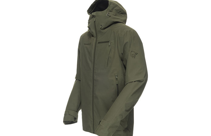 Norrona dovre hunting jacket waterproof windproof