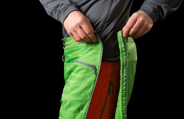 Norrøna lyngen alpha 3/4 pants Norrøna alpha pants for men
