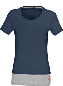/29 horizontal cotton T-Shirt (W)