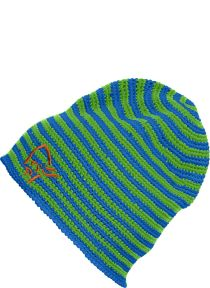 /29 crochet striped Beanie