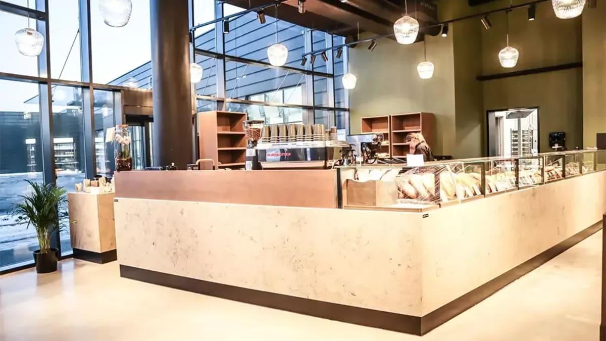Bakeri og kafé