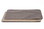 Katza K06-K07 dobbeltsidig spisebrikke grå/sort 30x45 cm