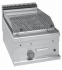 MBM Minima GPL46P lavasteingrill-topp m/fisk grillplate