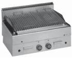 MBM Minima GPL86 lavasteingrill-topp m/kjøtt grillplate