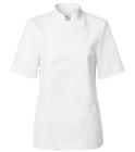 Segers kokkejakke dame 1602-201 med kort arm hvit