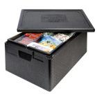 Thermo Future Box 1/1 GN Premium transportkasse 30L sort