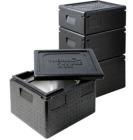 Thermo Future Box 1/2 GN Premium transportkasse 10L sort