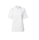 Segers kokkejakke 1602-201 str 36 dame kort arm hvit