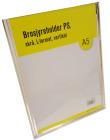 Brosjyreholder PS A5, skrå, L-format, Stående
