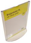 Brosjyreholder PS A5, rett, T-format, Stående