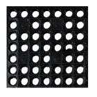 Flexi Våtrom matte m/sugekopper 79x158 sort