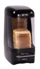 Dispenser for oppskåret brød, sort, 33,5x19,0x40,5 cm