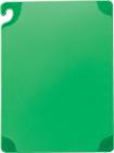 Saf-T-Grip grønt skjærebrett 152x229x85mm