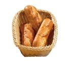 Brødkurv rektangangulær naturell 29 x 22 x 9 cm