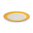 Figgjo 1304HHCAGR Capri gul/rød tallerken Ø26,5 cm H2,2 cm