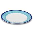 Figgjo 1364HHCAU Capri turkis/blå tallerken 17x1,9cm