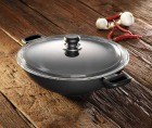 Scanpan Classic wok/chefpanne m/lokk 32cm
