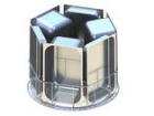 Granuldisk 102 rustfri vaskekurv for 6 GN 1/1-65