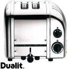 Dualit brødrister Classic 2 skiver krom