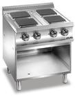 MBM Domina 700 E4A77Q el kokebord 4 firkantede pl.230V3N 50H