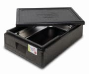 Thermo Future Box 1/1 GN Premium transportkasse 21L sort