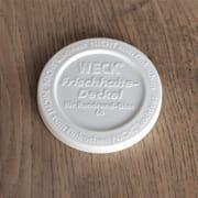 Weck plastlokk 6 cm for glasskrukke 160 ml og 80 ml