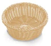 Brødkurv rund naturell 21 x 8 cm