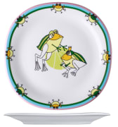 Benedikt KVA2225 barneservise Jenny frosk flat tallerken ø25