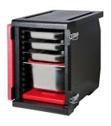 Thermo Future Box 1/1 GN Frontloader 93L 12 rød/sort