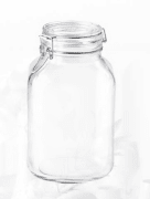 Bormioli Fido glasskrukke 300 cl