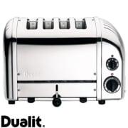 Dualit brødrister Classic 4 skiver krom