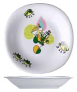 Benedikt KVA2022 barneservise Jenny frosk dyp tallerken ø22