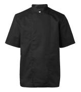 Segers kokkejakke 1605-201 sort med kort arm
