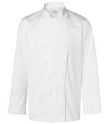 Segers kokkejakke 4030-250 med lang arm hvit