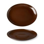 Benedikt LSC3028 Lifestyle Cocoa tallerken oval 28 cm