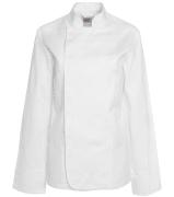 Segers kokkejakke 1604-201 str 40 dame hvit lang arm