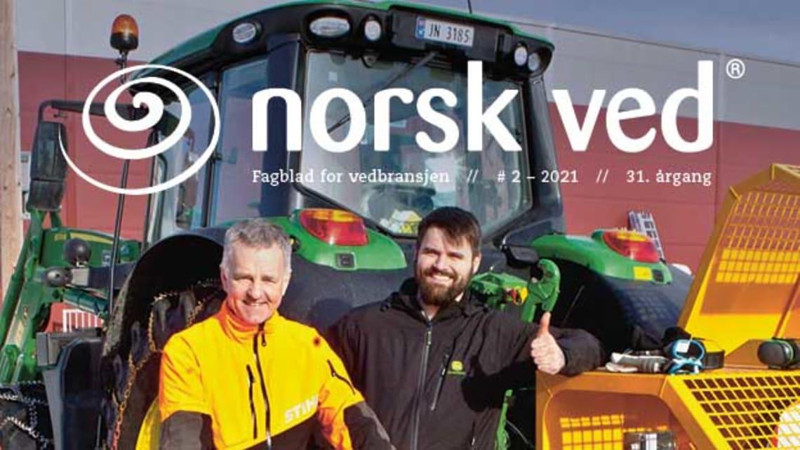Fagbladet Norsk Ved sendes nå ut