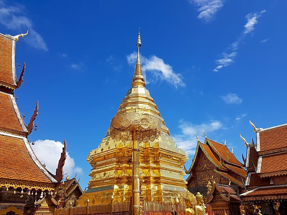 Doi Suthep and Wat Phra Lat Half Day Excursion